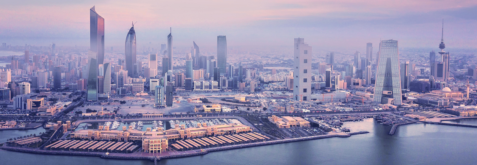 Panoramic View - Kuwait City